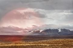 Road 41 To Reykjavik (1) (pni) Tags: landscape ice cloud hill mountain reflection stg road41 is18 iceland ísland pekkanikrus skrubu pni fell frombuswindow