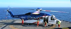 Bristow Sikorsky S-92A (Chickenhawk72) Tags: deepsea stavanger drilling rig barents sea norway finnmmark crew pilot helideck offshore wait idle