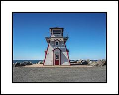 Arisaig Lighthouse, Nova Scotia (KVSE) Tags: lighthouse atlantic ns novascotia northumberlandstrait atlanticocean arisaig sun shadow up lookingup antigonish