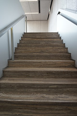2018-05-FL-188402 (acme london) Tags: artgallery flooring fondazioneprada italy milan milano museum oma remkoolhaas steps stonefloor stonestair travertine travertinestaircase travertinestone