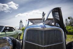 Owls Head Transportation Museum's Spring Auto Tour - Pemaquid Point Light, Maine (Jonmikel & Kat-YSNP) Tags: owlsheadtransportationmuseum maine me midcoast midcoastmaine mainecoast ohtm springautotour vintage car antique outside roadtrip lighthouse