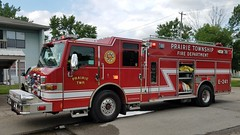 Engine 241 (Central Ohio Emergency Response) Tags: prairie township ohio fire department engine pumper truck pierce impel rear mount