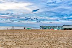 Virginia Beach (cj13822) Tags: virginiabeach virginia unitedstates us beach water ocean sand landscape landscapephotography skyscape vacation clouds people sea sky