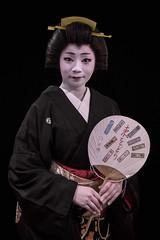 Kohana of Shinbashi (Rekishi no Tabi) Tags: geisha geigi geiko japan tokyo shinbashi ginza fujifilm xpro2