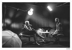 Studio (Aljaž Anžič Tuna) Tags: tv studio talkshow show slovenia new talking lights photography photo365 project365 people onephotoaday onceaday 365 35mm 365challenge 365project nikond800 nikkor nice nikon nikkor28mm f28 28mm 28mmf28 d800 dailyphoto day dark bw blackandwhite black white blackwhite beautiful
