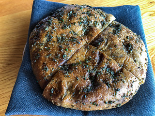 pane - olive and rosemary sourdough bread