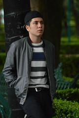 Pose (Evelio AD) Tags: stand people retrato face nikon cdmx city urban clothes style