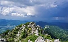 Sokolov Kamen - Dry Mountain, Serbia (aleksa.ndar) Tags: suvaplanina drymountain serbia srbija sokolovkamen landscape mountains clouds sky grassland colors nature hiking adventure nikon nikond5300 rain