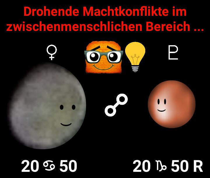 Venus Opposition Pluto