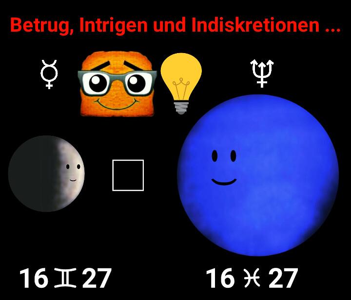 Merkur Quadrat Neptun