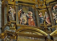 Astorga (León-España). Catedral. Retablo Mayor de 1584, obra de Gaspar Becerra. Detalle (santi abella) Tags: astorga león castillayleón españa catedraldeastorga retablos