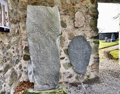 St Fergus Chapel Ruins Est 13th Century - Aberdeen Scotland 2018 (DanoAberdeen) Tags: danoaberdeen historicscotland aberdeen dyce worship ruins abandoned weathered neglected ancient museum dyceaberdeen candid amateur cemetry 2018 13thcentury 14thcentury churchruins scottishruins vintage pictish pict dycesymbolstones stfergus medieval ruined chapel dycei dyceii synbols sculpture art stones incised knotwork celtic cross ogham stonesofscotland