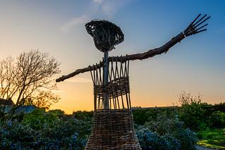 Irish scarecrow