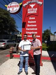 Entrega de Homenagem - Açougue Estilo Nobre no São Braz