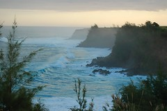 DSC_0083 (PDC Global) Tags: 2009 tides tide usa us unitedstates american unitedstatesofamerica trees pdc water culture ocean waves sea cliffs ledge jaws peahi northshore hawaii maui