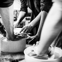Hand made cheese (Stefano Avolio) Tags: cheese formaggio mani homemade fattoamano braccia arms hand handmade bw blackwhite blackandwhite monocromo biancoenero bianconero bn stefanoavolio savolio