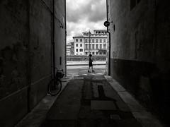 Passing by (methariorn78) Tags: streetphoto street blackandwhite biancoenero light luce alley vicolo people persona bw bn mono monochrome monocromatico shadow ombra contrast contrasto detail dettaglio city città urban