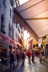 Venice 40°C (marekkaczkowski) Tags: sunset street venice travel italy europe tourism italian landmark architecture sky venetian cityscape historic view canal european famous venezia building