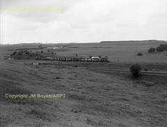 1783 D53xx nr Cronberry Jct 03-07-68 (John Boyes) 283 (Ernies Railway Archive) Tags: gswr lms scotrail cronberrystation