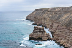 Kalbarri National Park Coastal Cliffs, Western Australia (tonyg1494) Tags: kalbarrinationalparkcoastalcliffs kalbarrinationalpark westernaustralia australia clouds sky rock water ocean tonygong photography