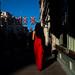 London, UK. May 2018 (Victor M. Perez) Tags: 28mm leicam10 leica streetphotography reddress goldenhour unionjack picadilly uk london