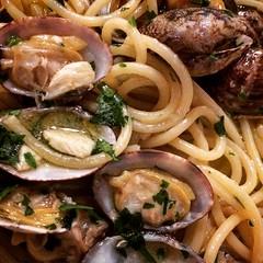 spaghetti alle vongole (Bim Bom) Tags: spaghetti clam italianfood vongole dasergio roma20185