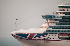 MS Azura (g_heyde) Tags: msazura liner cuxhaven 2900m po xpro2