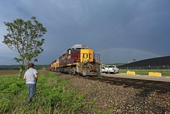 Thanks Puda (GLC 392) Tags: conesville oh ohio emd sd402 ohcr central railroad railway train system coal rain bow power plant tree 4029 3308 rainbow storm light double