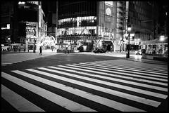 Shibuya Crossing, Dōgenzaka, Shibuya-ku, Tōkyō-to (GioMagPhotographer) Tags: tōkyōto dōgenzaka shibuyaku japanproject leicamonochrom afterdark empty japan buildingwide dgenzaka tokyo tkyto