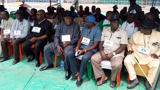 PDP gubernitarial primaries. Yenagoa. 29th Sept 2015