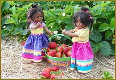 Es wird ein süßer Tag ... (Kindergartenkinder 2018) Tags: annette himstedt dolls leleti kindergartenkinder garten erdbeeren