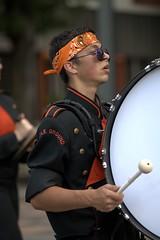 Marching Bass Drummer (Scott 97006) Tags: bass drummer highschool guy man drum march