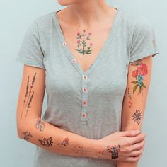 Floral Pack - Tattoo (TattooForAWeek) Tags: floral pack tattoo tattooforaweek temporary tattoos wicker furniture paradise outdoor