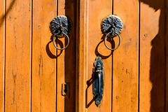 Traditional Lock (George Plakides) Tags: lock metal rust traditional lofou door wooden