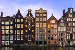 Canal Houses (street level) Tags: architecture architecturalphotography amsterdam netherlands holland canal canalhouses travel europe