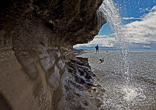 SANDCUT BEACH WATERFALLS