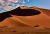 The dune (flowerikka) Tags: clouds desert dryclimate dune dünen dunes landscape linien namibdesert namibia nature redcolor sand shadow sky sossusvlei sun