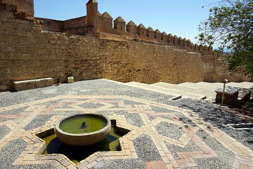 Alcazaba in Almeria, Spain