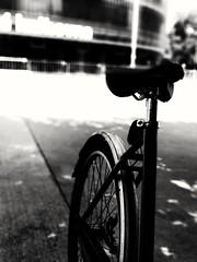Take your bike. (j૯αท ʍ૮ℓαท૯) Tags: black white bike noir et blanc