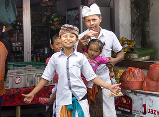 Beaux sourires Balinais..Indonesie
