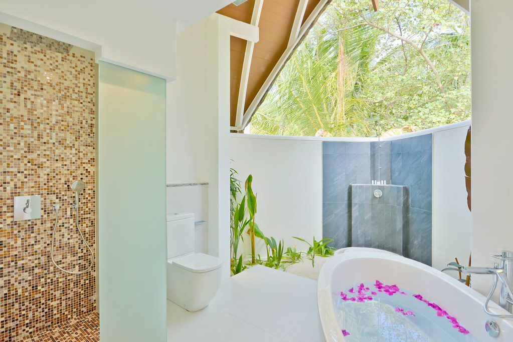 Duplex Pool Villa - Bathroom