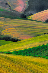 Italian Hills (emanuelezallocco) Tags: hills landscape colline paesaggio marche marchigiano italia colors colori campi field