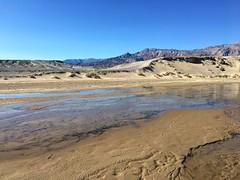Water in the desert (PeterCH51) Tags: deathvalley dvnp deathvalleynationalpark california usa creek saltcreek water desert iphone peterch51 america