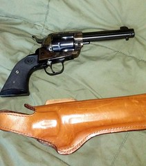 Hand Cannon and Holster (genesee_metcalfs) Tags: gun holster