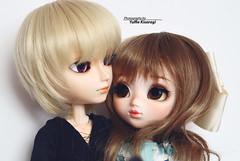 Love in in the air (·Yuffie Kisaragi·) Tags: doll dolls pullip wind custom yuzuaesthetics nayame taeyang mio meilachan adam obitsu rewigged rechipped