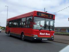 Red Bus in Skegness (Hesterjenna Photography) Tags: sn53kkw bus psv coach transbus dennisdart dennis londonbus londongeneral pointer dart skegness lincolnshire