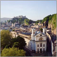 Salzburg View (Koprek) Tags: rolleiflex 28f april 2018 austria kodakporta400 salzburg kurt