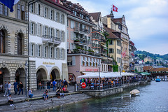 Old town in Lucerne, Switzerland (ttchao) Tags: nikon d810 2470mm luzern lucerne switzerland oldtownlucerne