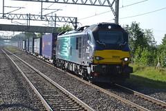 DRS Class 88 88004 'Pandora' - Acton Bridge (dwb transport photos) Tags: drs directrailservices 88004 pandora locomotive actonbridge vossloh stadlerrail