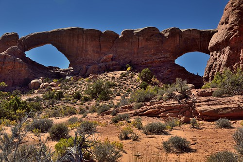The Spectacles (Arches National Park)